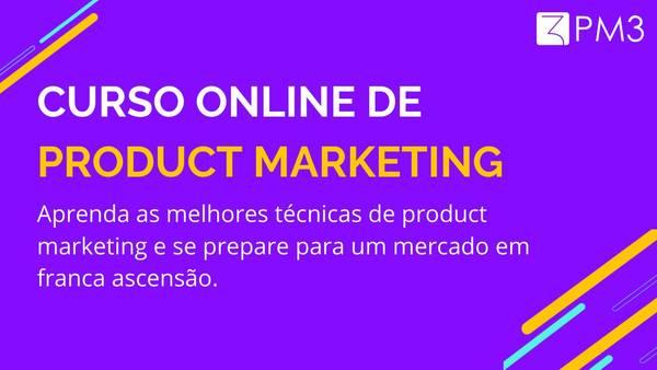 Curso de Product Marketing - Cursos PM3