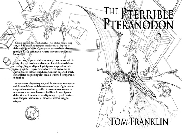 A preliminary Sketch of the cover.
