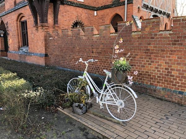 Blumenrad am Möckelhaus Foto: Cora Meyer