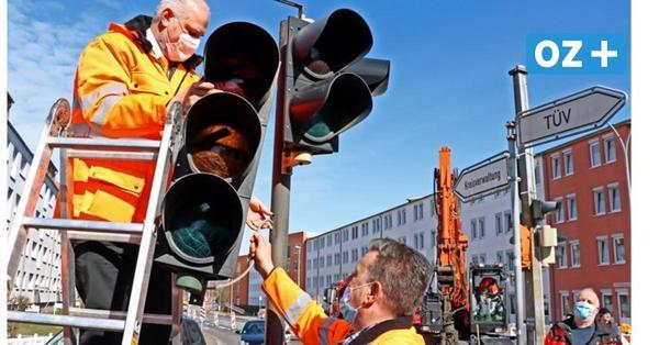 Neue Kreuzung für drei Millionen Euro in Stralsund: Einschränkungen für Autofahrer