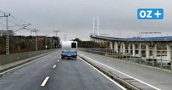 Hunderte Touristen aus MV verwiesen: Warum es keine Kontrollen an der Rügenbrücke gibt