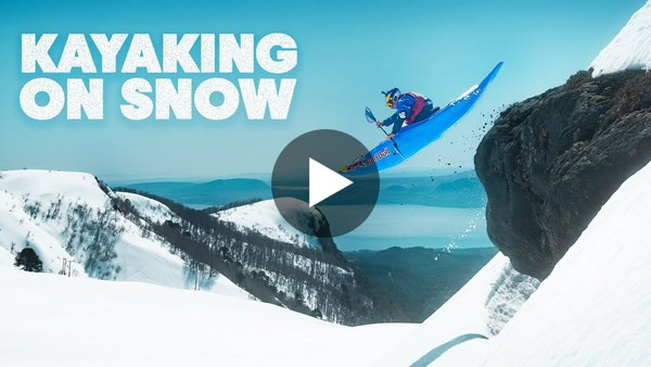 Kayaking At 100km/h On Snow?! | Red Bull Kayaking
