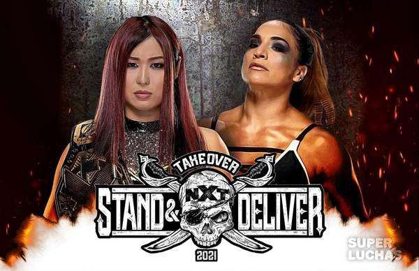 NXT TAKEOVER: STAND & DELIVER (7 de abril 2021) | Io Shirai vs. Raquel González