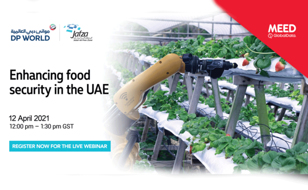 Webinar: Securing food supply with AI & vertical farming (12 April)