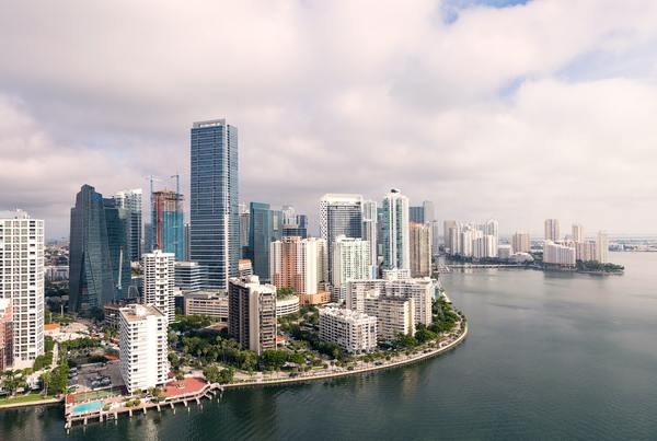 Photo of Miami's skyline by Ryan Parker on Unsplash