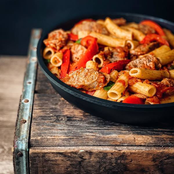 Try ZK Ranches Italian sausage in your next homemade pasta dish.