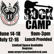 Rock Camp is coming this summer!