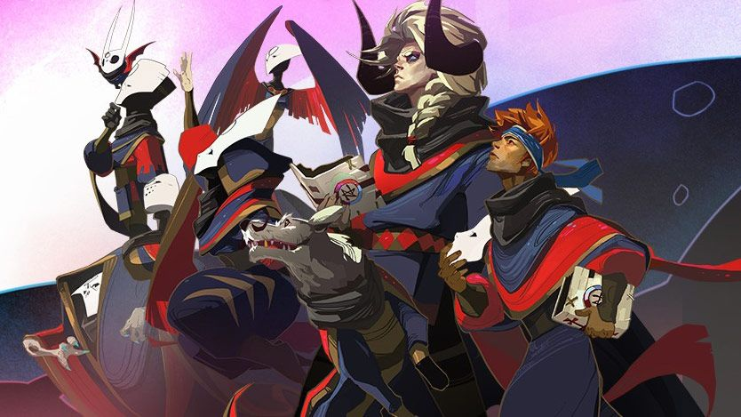 Artwork from Supergiant Games's Pyre
