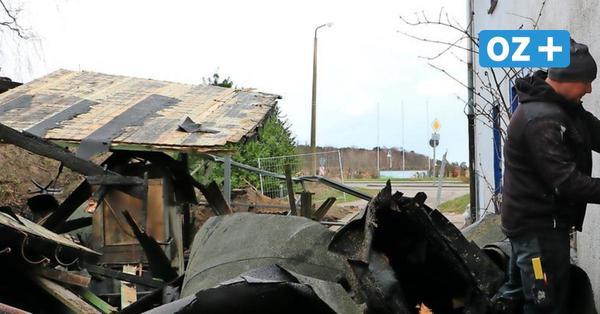 Nach Brand in Prerow: Nachbarn klagen über Zustand des Geländes