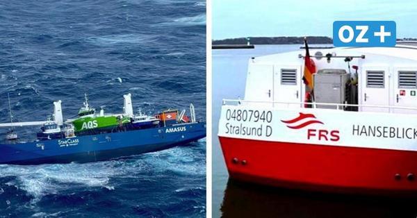 """Schiff der Weißen Flotte aus Stralsund von Havarie des Frachters """"Eemslift Hendrika"""" betroffen"""