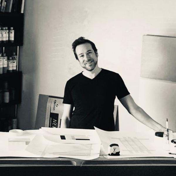 Kaline Carter in his studio
