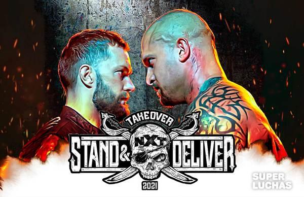 NXT TAKEOVER: STAND & DELIVER (8 de abril 2021) | Finn Bálor vs. Karrion Kross