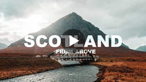 Scotland From Above - Drone Shots 4K Cinematic