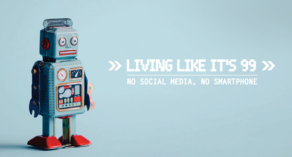 Viviendo como si fuese 1999: sin redes sociales ni smartphone