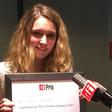 Alexandra Lagarde, lauréate du Prix RFI Charles-Lescaut 2021