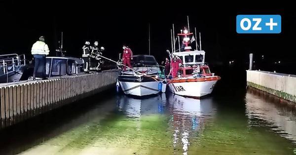 Großeinsatz für Seenotretter vor Boltenhagen: Dichter Qualm auf einem Sportboot