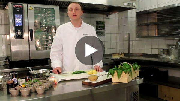 Ofenkartoffel mit Bärlauch-Quark vom Hotel Hanseatic Rügen & Villen