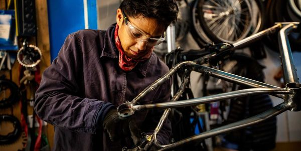 These Women Are Changing Who Gets to Ride—One Custom Bike Frame at a Time