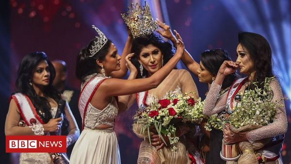 Sri Lanka Mrs World arrested over pageant bust-up