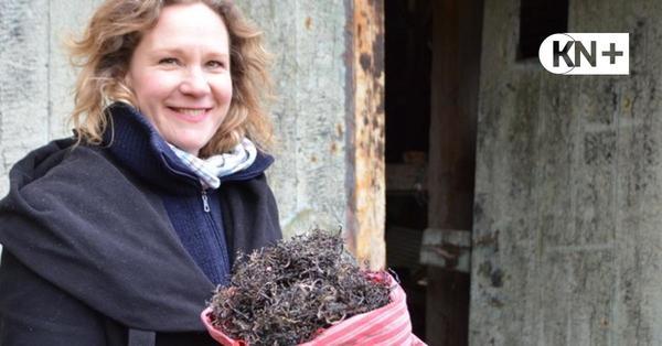 Stranderin Ann-Christin Urbarz setzt auf Seegraskissen mit Kunstfaktor