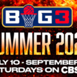 Big3 will begin 2021 season on July 10, all games broadcast live on CBS