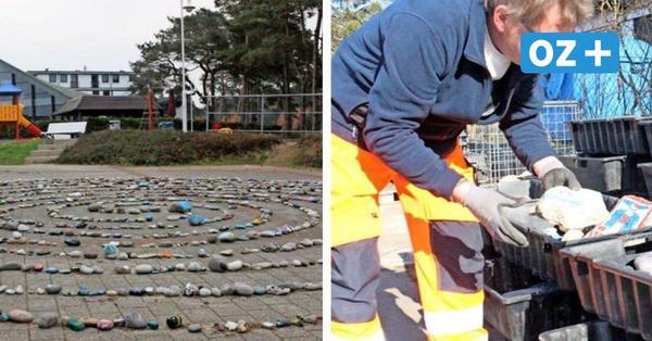 Nach Vandalismus: Steinschnecke vom Rügen-Platz in Sassnitz wurde abgebaut