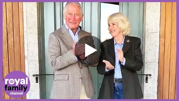 Prince Charles and Camilla Join Applause for Key Workers