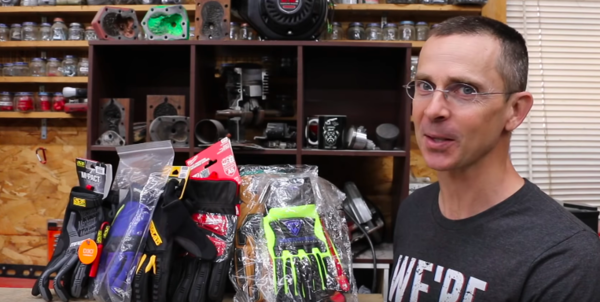Todd puts heavy-duty work gloves to the test.