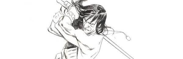Massimo Carnevale - Conan Original Comic Art