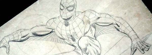 John Romita - Lost Spider-man sketch