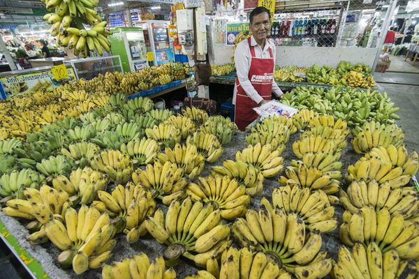 Reichlich Auswahl auf dem Markt in Pattaya