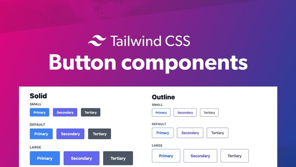 Tailwind CSS button components