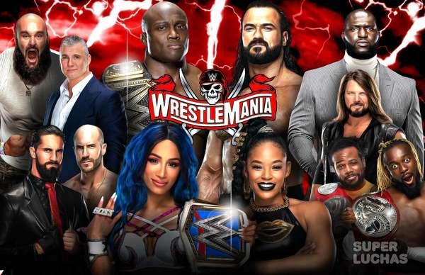 WWE WRESTLEMANIA 37, 1a noche | Resultados en vivo | Sasha Banks vs. Bianca Belair