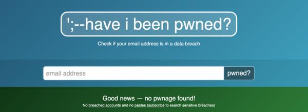 Super Web-Tool um zu checken ob mal selbst von Hacks betroffen ist