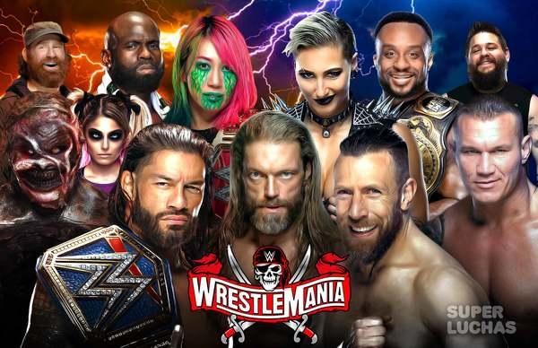 WWE WRESTLEMANIA 37, 2a noche | Resultados en vivo | Roman Reigns vs. Edge vs. Daniel Bryan