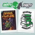 419. Captives of the Flame by Samuel R. Delany (Reading Rangers)