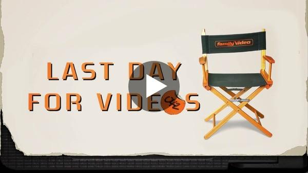 Last Day for Videos | Full Documentary
