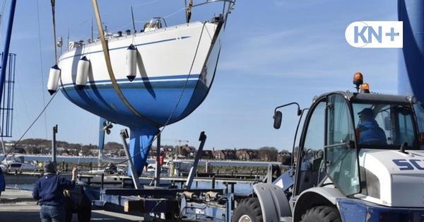 Abslippen 2021: Im Segelclub Eckernförde schweben wieder die Jachten