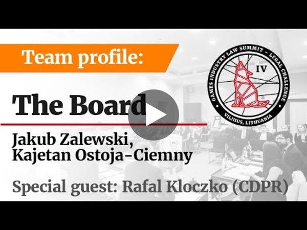 LC IV Team profile –The Board (PL)