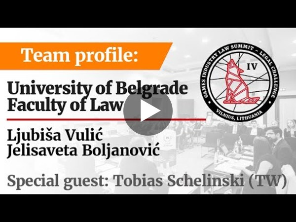 LC IV Team profile – University of Belgrade, Faculty of Law (RS)