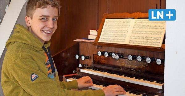 Siebenbäumen: 15-jähriger Organist im Prüfungsstress