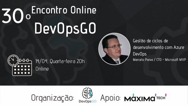 30º Encontro Online DevOpsGo
