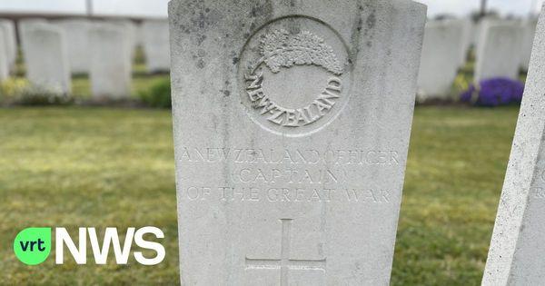 Un soldat identifié 103 ans plus tard -  Vermiste Nieuw-Zeelandse soldaat krijgt naam