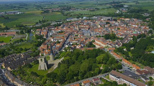 Flandre: en campagne, les maisons se font rares - De huizen worden schaars in Frans-Vlaanderen