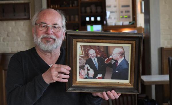 Jürgen Solkowski erinnert sich noch gut an den Besuch von Prinz Philip. Foto: Bernd Gartenschläger