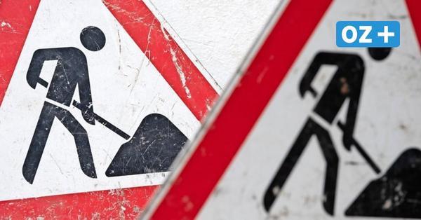 Rostock und Warnemünde: Wo neue Baustellen ab Montag den Verkehr stören