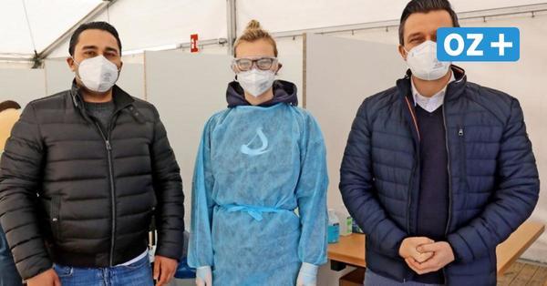 Großer Ansturm auf Mega-Testzentrum in Stralsund – Vorbild für Veranstaltungen?