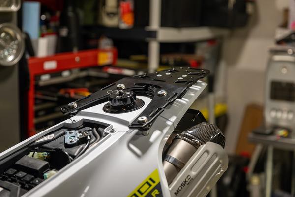 Perun Moto Rack + Vanasche Fuel Cap
