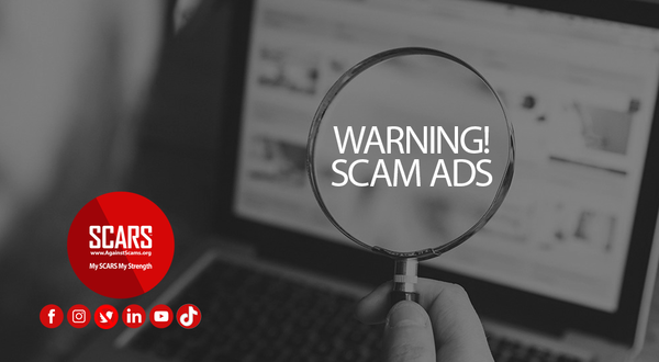 Avoid Online Scam Ads – SCARS Romance Scams Education & Support Website