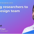 Adding researchers to your design team // UX Passion Talk - Wednesday, 12 May at 1730